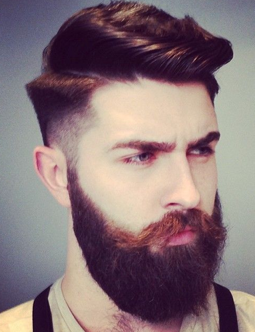 Stylizacja brody i zarostu inspiracjefacetem jestem i o for Estilos de barba sin bigote